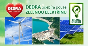 DEDRA ide iba na zelenú energiu