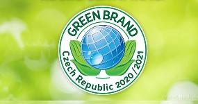 Vaše DEDRA získala certifikát GREEN BRANDS!